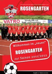 ROSENGARTEN - SUS-Niederschelden