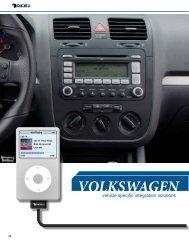 VOLKSWAGEN - iPhone car kit