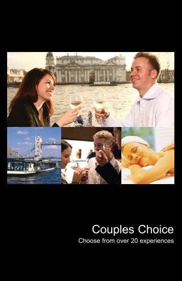 Choice For Couples - Virgin Experience Days