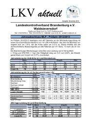 Informationen - Landeskontrollverband Brandenburg eV