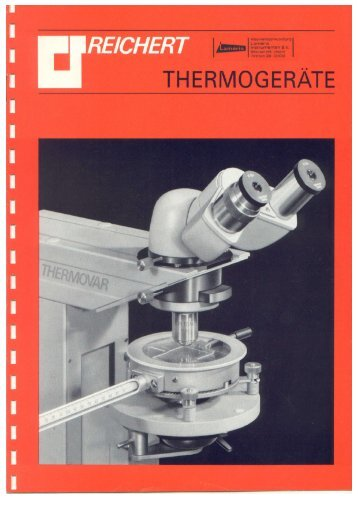 Page 1 Page 2 THERMO- REICHERT __ MIKROMETHODEN ...