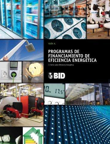Guía A - Programas de Financiamiento de Eficiencia Energetica