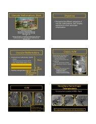 Vascular Malformations - Radiology - Uniformed Services University ...