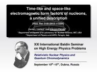 Time-like and space-like electromagnetic form factors of nucleons, a ...