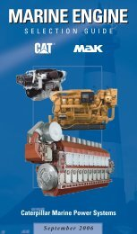 MARINE ENGINE - Tractors India Private Limited