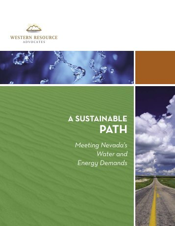 A SuStAinAble PAth: Meeting Nevada's Water and ... - Circle of Blue