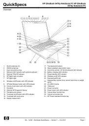 HP EliteBook 2760p Tablet PC - A-TRAC Computer Sales