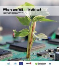Where are WEEE in Africa FINAL.pdf - e-Waste. This guide