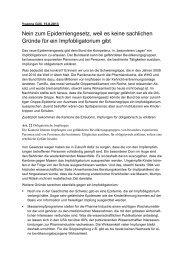 Stellungnahme von Yvonne Gilli, Ärztin und Nationalrätin