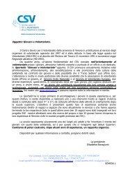 Giovani e Volontariato - Ufficio Scolastico Provinciale di Verona