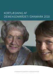 kortlægning af demensområdet i danmark 2010 - Social