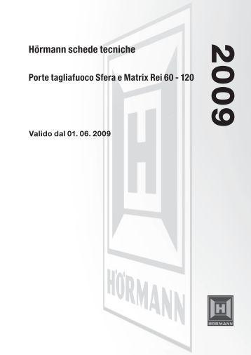 H t f giunto tagliafuoco for Porte rei 60 prezzo