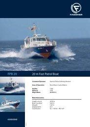 FPB 20 - Fr. Fassmer GmbH & Co. KG