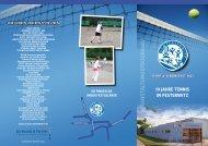 Sport & VereinSfeSt 2012 10 Jahre tenniS in ... - SV-Pesterwitz