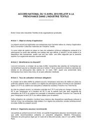 accord national du 13 avril 2010 relatif a la prevoyance dans ... - Wk-rh