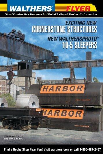 cornerstone structures 10-5 sleepers cornerstone ... - Walthers