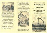 Fahrradgeschichte von 1817 bis heute, echte ... - Diakonie Schweinfurt