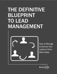 THE DEFINITIVE BLUEPRINT TO LEAD MANAGEMENT