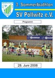 Programm Biathlon 2008 3 - SV Pöllwitz