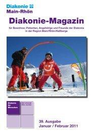 Diakonie-Magazin Nr.: 39 (799,29 kb) - Diakonie Schweinfurt