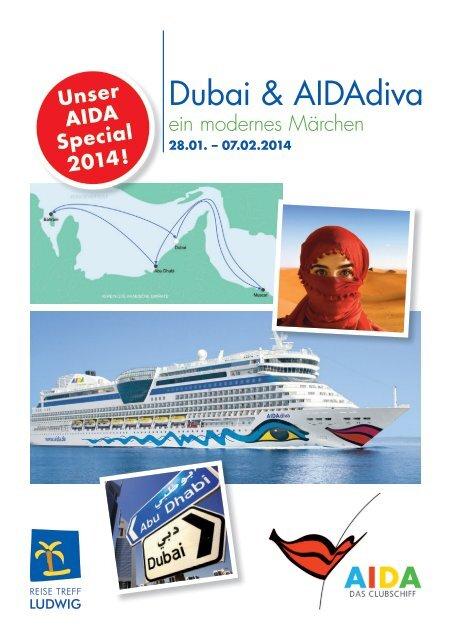 Dubai & AIDAdiva - Reise Treff Ludwig