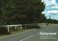 Galleywood Village Design Statement - Chelmsford Borough Council