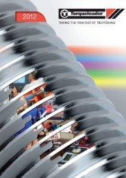 Catalogo prodotti Torqueleader 2012 in inglese - Sicutool