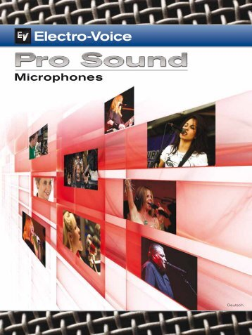 Drahtgebundene Mikrofone - M-Akustik