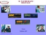 il tachigrafo digitale - images.no.camcom.gov.it - Camere di ...