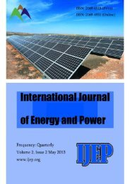 ContactInformation - International Journal of Energy and Power