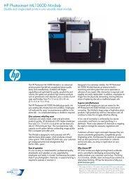 HP Photosmart ML1000D Minilab