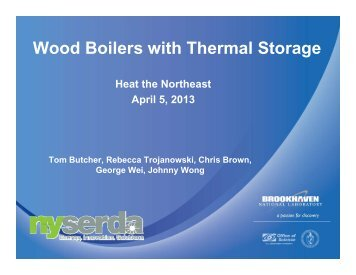 Wood Boilers with Thermal Storage - Northeast Biomass Heating ...