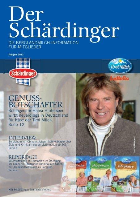 GENUSS- BOTSCHAFTER - Berglandmilch