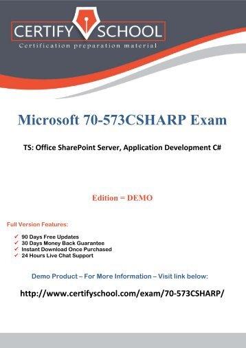 70-573CSHARP Exam