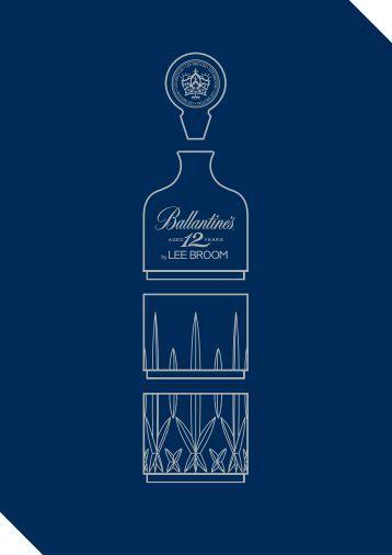 """"""" """" Ballantine's 12 ans d'âge a une histoire forte, j'aime cet ... - Pernod"""