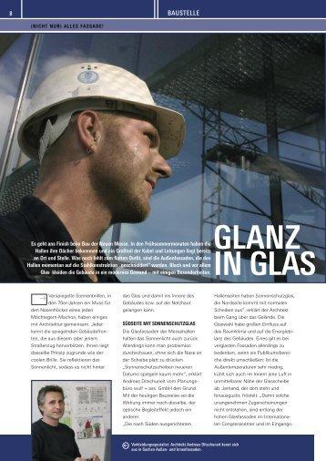 Fassaden: Glanz in Glas - Wortweber.de