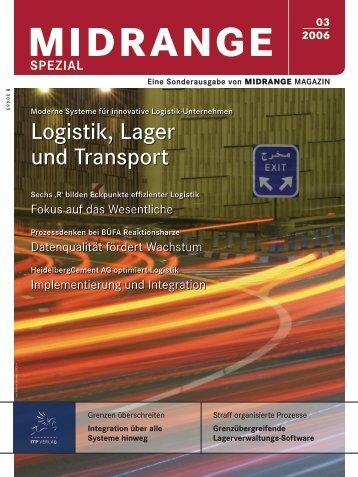 Logistik, Lager und Transport - Midrange Magazin