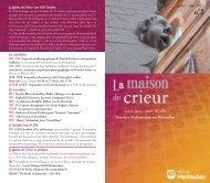 Voir la plaquette de la Maison du Crieur - Montauban.com