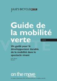 Guide de la mobilité verte - On the Move
