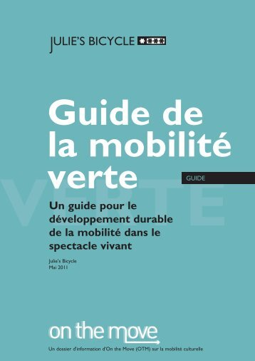 Guide de la mobilité verte - On the Move