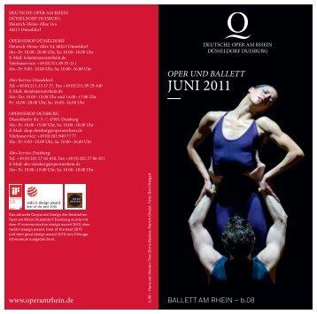 Spielplan Juni 2011 - IOCO