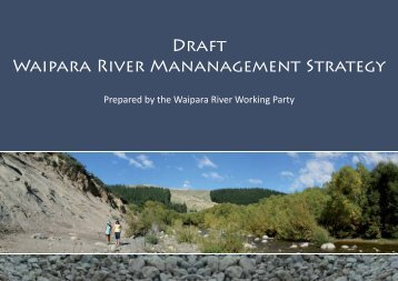 Draft Waipara River Strategy (Refer pg 61 of Council Agenda)