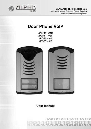 Door Phone VoIP - Avanzada 7