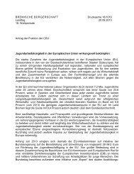 BREMISCHE BÜRGERSCHAFT - Bremen