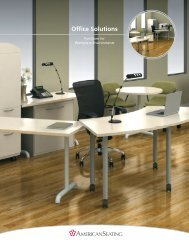 Office Solutions (PDF) - American Seating