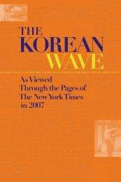 The Korean Wave 2007 - Korean Cultural Service