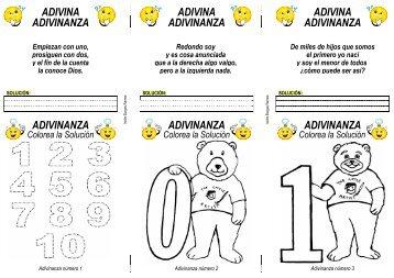 los números 1 - Actiludis