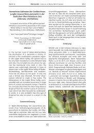 (Leucorrhinia pectoralis) in der badischen Oberrheinebene ... - INULA