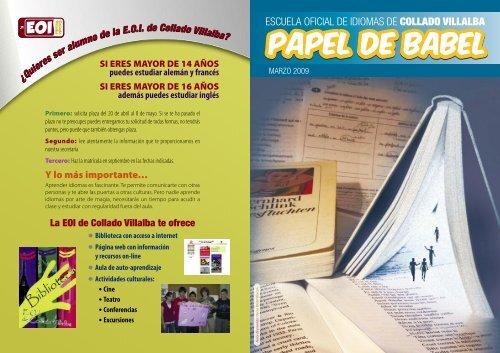 Maquetaciã N 1 Escuela Oficial De Idiomas