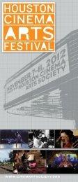 Download a PDF of 2012 Pocket Guide - Houston Cinema Arts Society